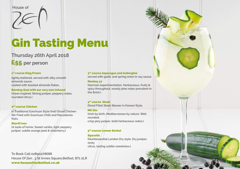 gin menu 15th March 2018 website